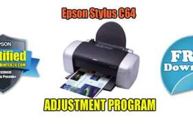 Epson Stylus C64 Adjustment Program