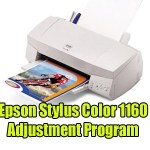 Epson Stylus Color 1160 Adjustment Program