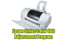 Epson Stylus Color 680 Adjustment Program