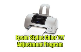Epson Stylus Color 777 Adjustment Program