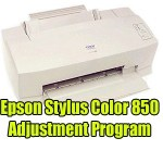 Epson Stylus Color 850 Adjustment Program