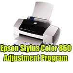 Epson Stylus Color 860 Adjustment Program