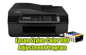 Epson Stylus Color 880 Adjustment Program