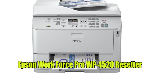 Epson WorkForce Pro WP-4520 Adjustment Program