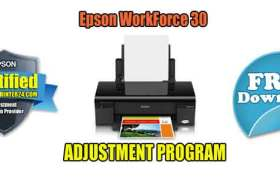 Epson WorkForce 30 Adjustment Program