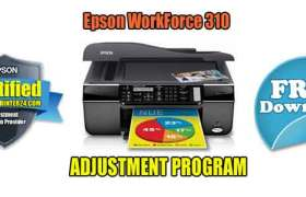 Epson WorkForce 310 Adjustment Program