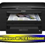 Epson WorkForce WF-7018 Adjustment Program