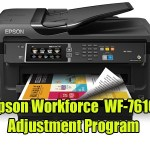 Epson Workforce WF-7610 Adjustment Program