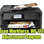 Epson Workforce WF-7720 Adjustment Program