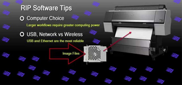 Our Inkjet Printer and Rip Software Setup