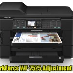 Epson WorkForce WF-7525 Adjustment Program
