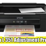 Epson L351 Adjustment Program ( Resetter )