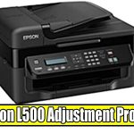 Epson L500 Adjustment Program ( Resetter )