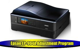 Epson EP-904A Adjustment Program