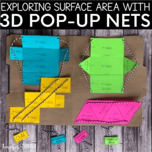 surface 3D formes geometriques