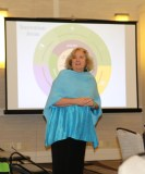 Photo: Mary Lee Fay, director of NASDDDS,welcomes attendees to the meeting