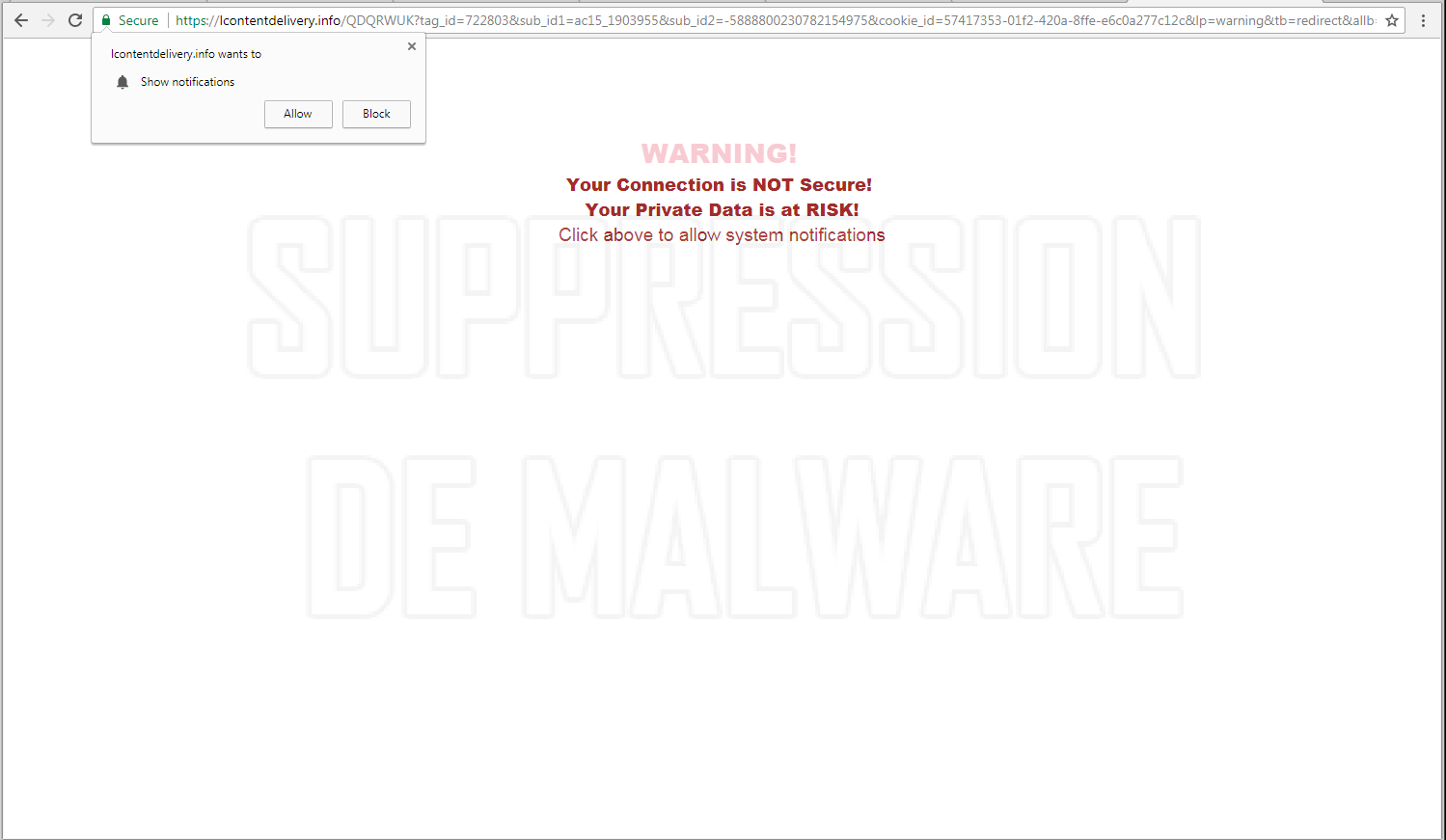 Lcontentdelivery.info virus