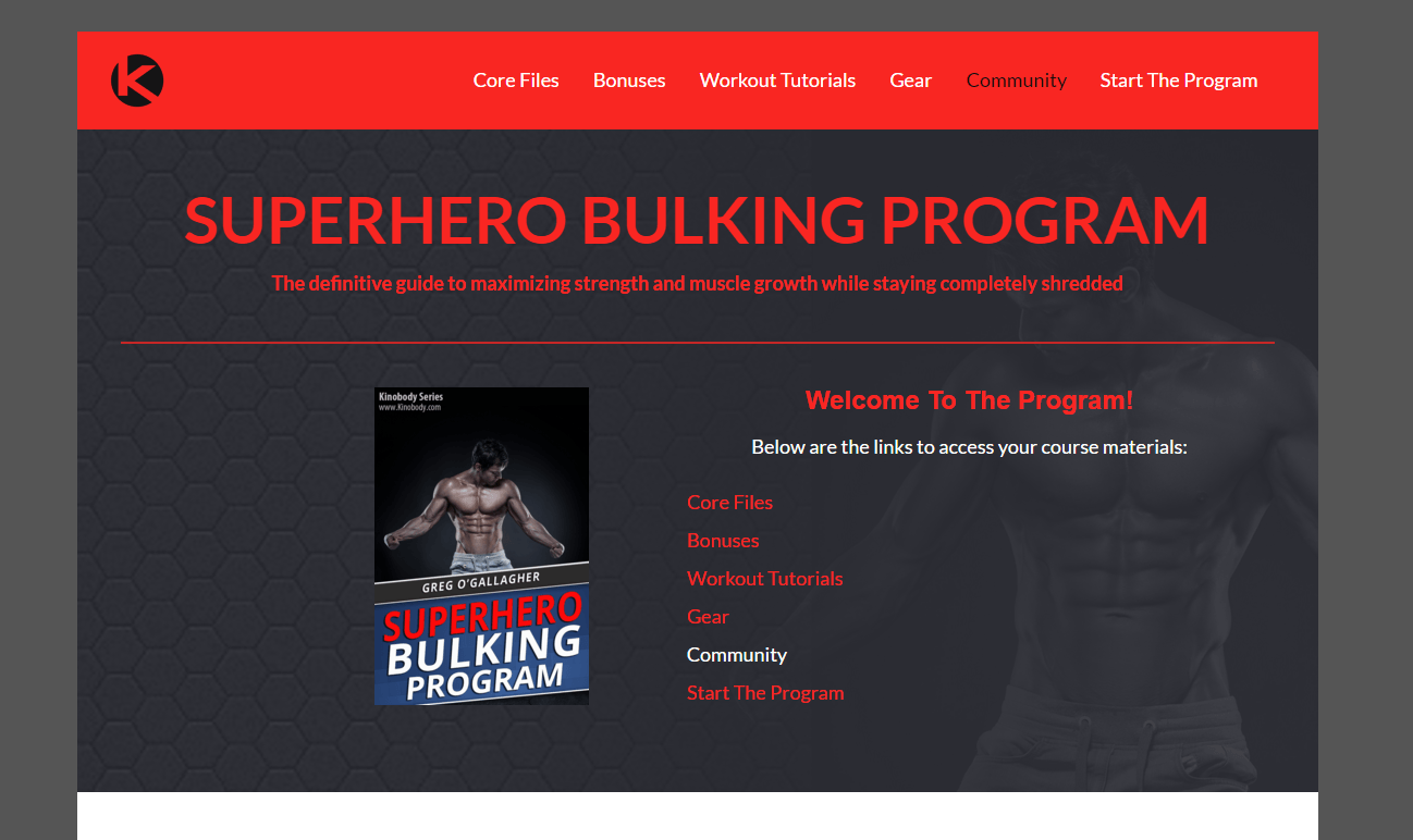 superhero bulking program review