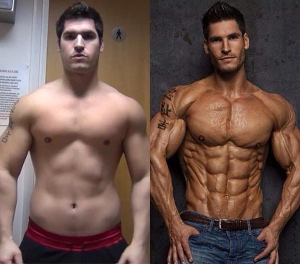 steroids transformation