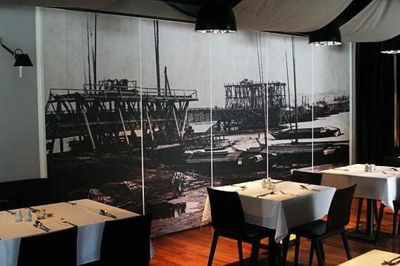 printing of wall murals for restaurants
