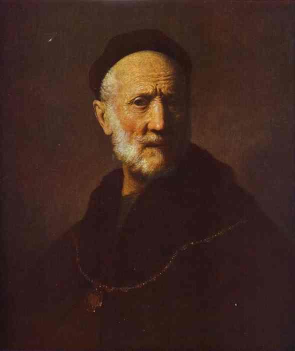 Rembrandt - Portrait of Rembrandt's Father.