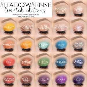 ~3 B. Limited Editions ShadowSense®