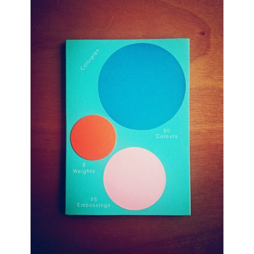 New Colourplan book arrived yesterday. Thanks Matt @GFSmithpapers looks great.