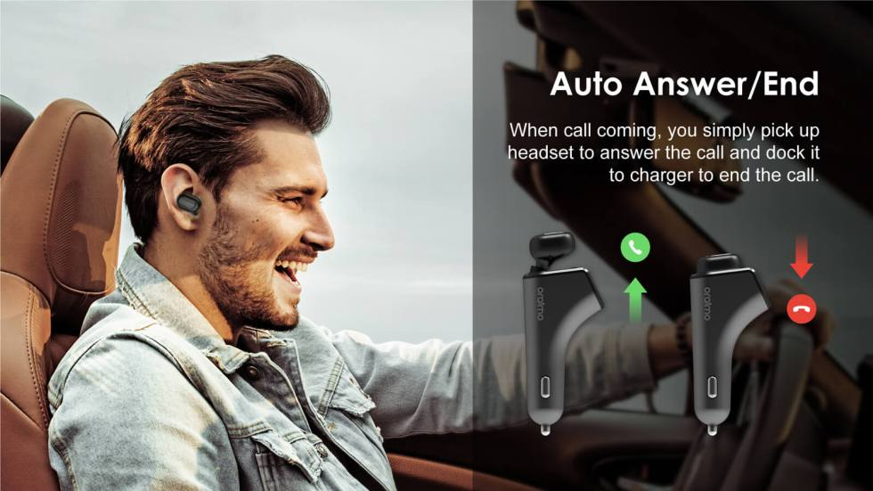 Supreme Mobiles | ORAIMO BLUETOOTH CAR CHARGER(ROADSTER) OCM-BH10