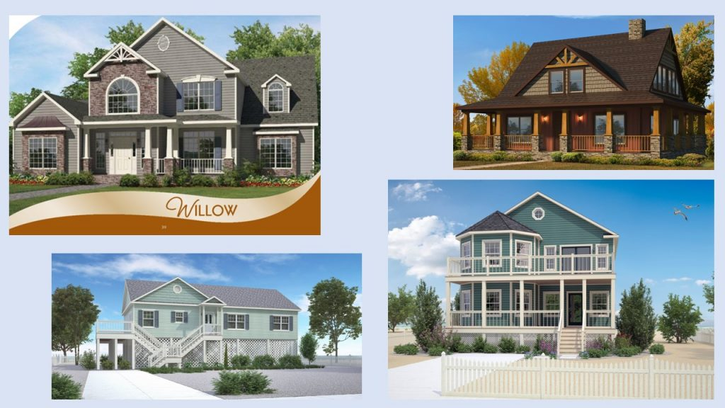 Modular Home Elevations