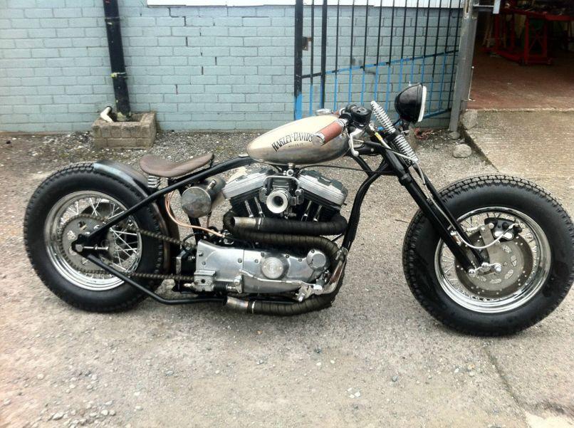 Harley Evo Bobber Frame | Motorjdi.co