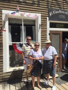 John, Carol and Lou at St. Elmo ghost town