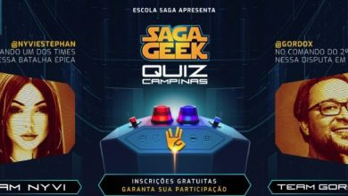 SAGA promove competição de conhecimento geek com a participação de Gordox e Nyvi Estephan 2