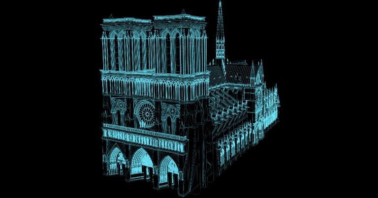 Reconstruir a Catedral de Notre Dame se tornará mais fácil... 1