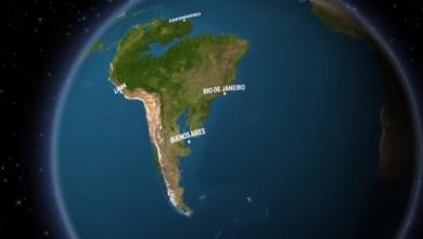 Foto de Como seria a Terra se todo o gelo derretesse?