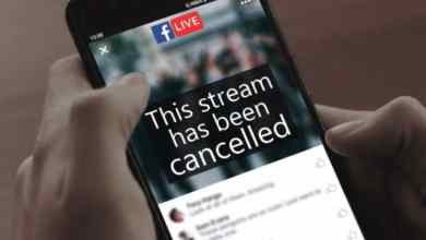 Combater o extremismo online cancelando streaming de video