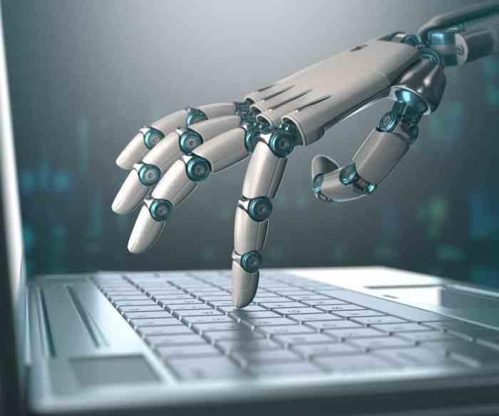 mão robótica próximo passo da inteligência artificial implantada