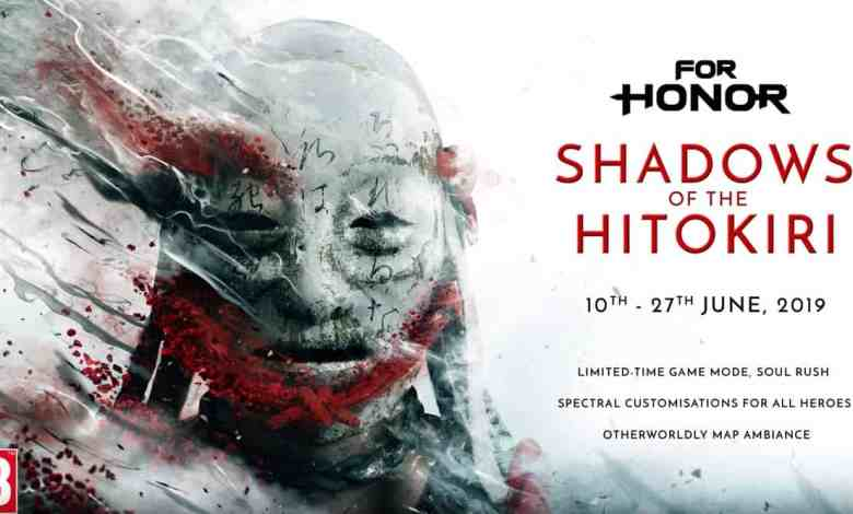 Photo of For Honor: Shadows of the Hitokiri, evento por tempo limitado!