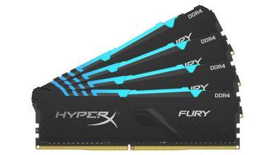 FURY DDR4 RGB a nova memória da hyperx