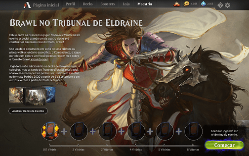 Photo of Brawl no Tribunal de Eldraine é o novo formato promovido em Magic: the Gathering Arena