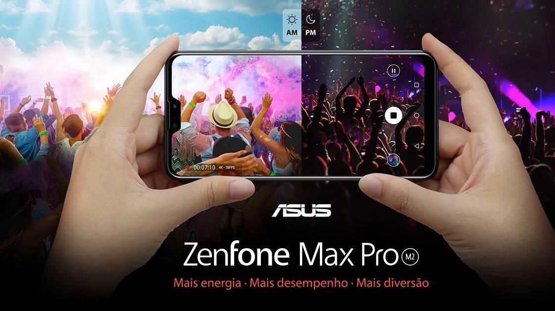 ZenFone Max Pro (M2) é mais desempenho, beleza e diversão. 1