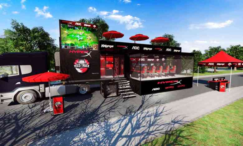 Photo of RED Truck HyperX atravessará o Brasil em busca de novos jogadores