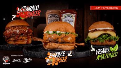 Três sanduíches artesanais criados pela RED Canids Kalunga 2