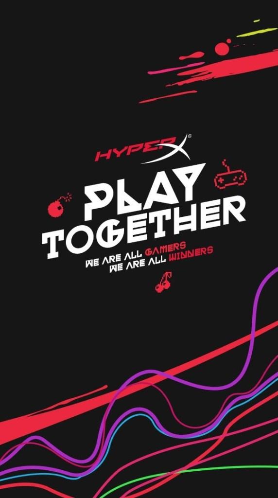 Organizada pela HyperX, live Play Together reúne top gamers e personalidades neste domingo, dia 7 2