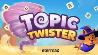 Photo of etermax lança TOPIC TWISTER, game mobile que testa conhecimentos gerais e é inspirado em famoso jogo de palavras
