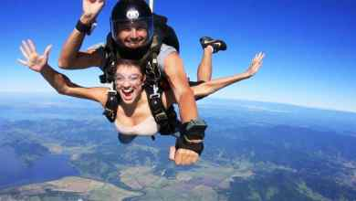 Saltar de paraquedas promove relaxamento e outros benefícios 11
