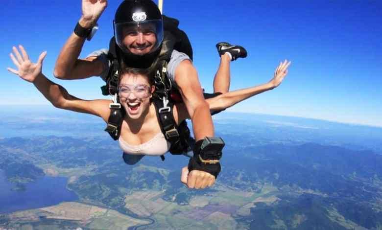 Saltar de paraquedas promove relaxamento e outros benefícios 1