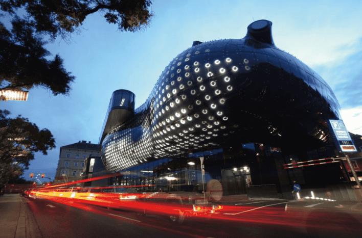 Prédio em forma de cesta: Obras arquitetônicas mais inusitadas do mundo 7