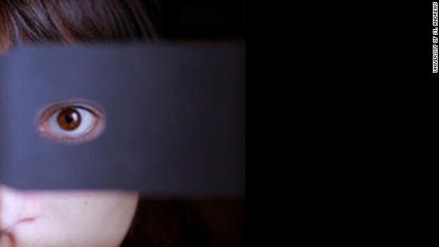 Exergando 3-D com apenas um olho.