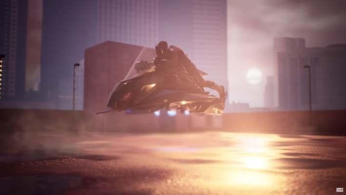 Sonho Cyberpunk que vira realidade: The Speeder 1