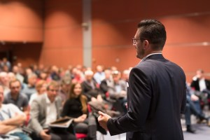 Palestra motivacional para empresários